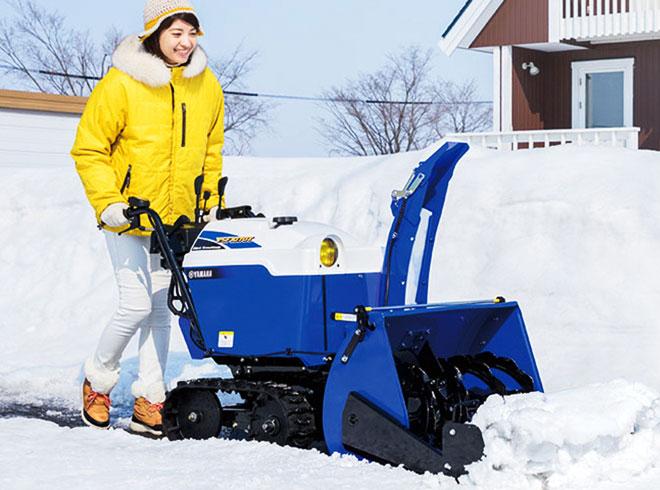 除雪機の販売